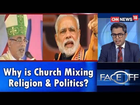 #ChurchPolitics: Why is the Church Mixing Religion & Politics?   Face Off   CNN-News18 Mp3