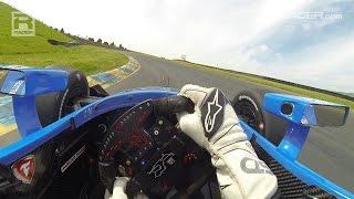 IndyCar: Scott Dixon Sonoma Visor Cam