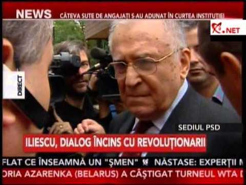 Iliescu, DIALOG APRINS cu revoluţionarii