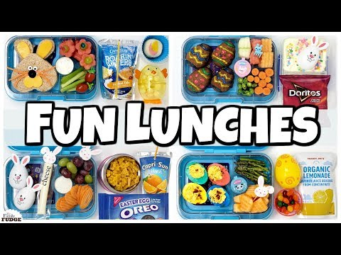 769ae8624b41 NEW LUNCH BOXES! and HOT LUNCHES 🍎 Fun Lunch Ideas - YouTube