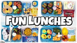 Fun SPRING School Lunch Ideas 🐰 NEW LUNCH BOXES!