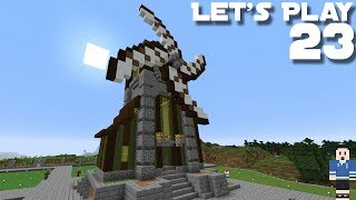 How To Make A Working Windmill In Minecraft
