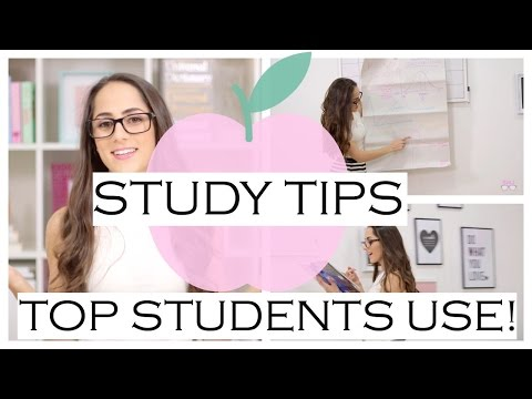 Study Tips Top Students Use! Get The Highest Grades at School!