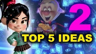 wreck it ralph 2 movie ideas beyond the trailer