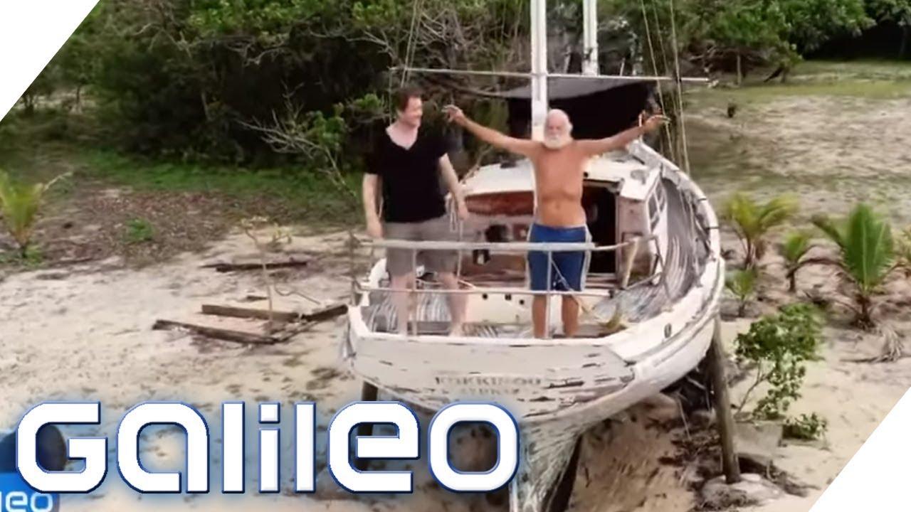 Wie ein Multimillionär zum modernen Robinson Crusoe wurde   Galileo   ProSieben