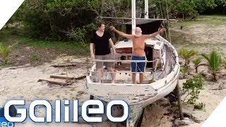 Wie ein Multimillionär zum modernen Robinson Crusoe wurde | Galileo | ProSieben
