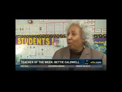 Dr. Bettie Caldwell - Teacher of the Week - Felton Laboratory Charter School