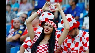 Gambar cover Top 10 Crazy fans reactions by Croatian Fans | England vs Croatia 2-1 | Semi final