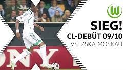 Hattrick Grafite! Wölfe siegen bei Debüt | VfL Wolfsburg - ZSKA Moskau 3:1 | Champions League 09/10