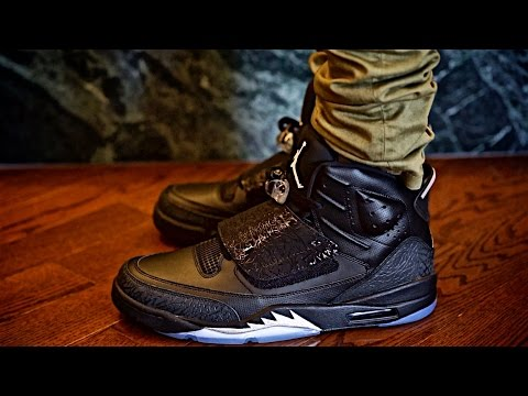 "JORDAN SON OF MARS ""BLACK CAT"" ON SALE Sneaker preview and on Foot Review"