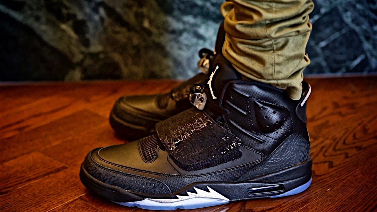 "JORDAN SON OF MARS ""BLACK CAT"" ON SALE Sneaker preview and on Foot Review ccd1dbf84d32"