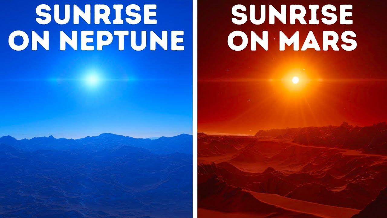 Како изгледа небото на другите планети?