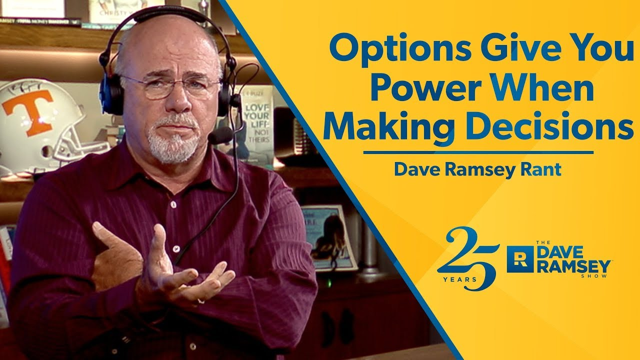 Options trading dave ramsey * blogger.com