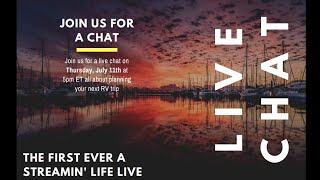 RV Trip Planning Live Chat