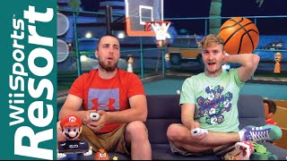 Wii Sports Resort (Basketball) - THE FOLD