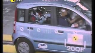 Краш тест Fiat Panda II 2004 (E-NCAP)