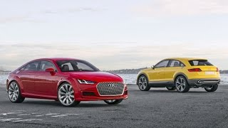 Audi TT Sportback Concept 2014 Videos