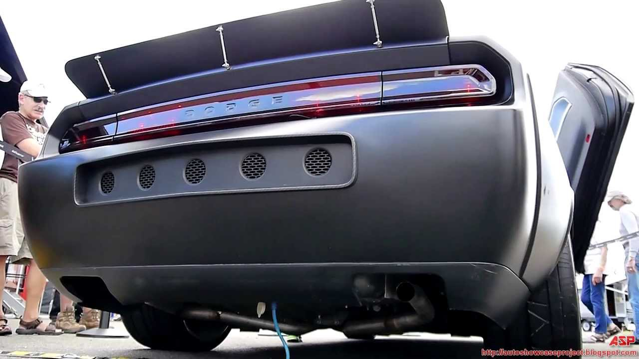 Air Force Vapor Stealth Muscle Car Exhaust Demo Youtube