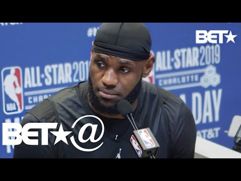 NBA All Stars LeBron James, Dwyane Wade and More Kneel with Kaepernick | BET@