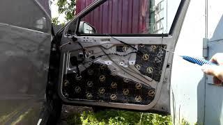 Шумо-виброизоляция авто шкода октавия тур.Noise-vibration isolation auto Skoda Octavia tour.