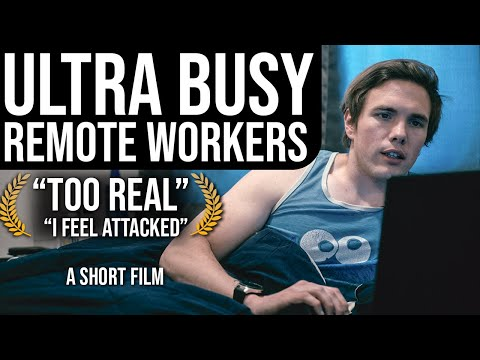 """The """"Ultra Busy"""" Remote Worker (Software Developers) - A Short   #grindreel"""