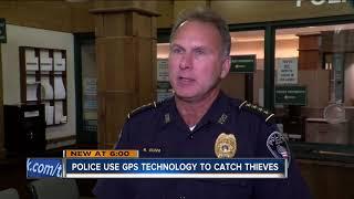 Car thief caught using GPS tracker