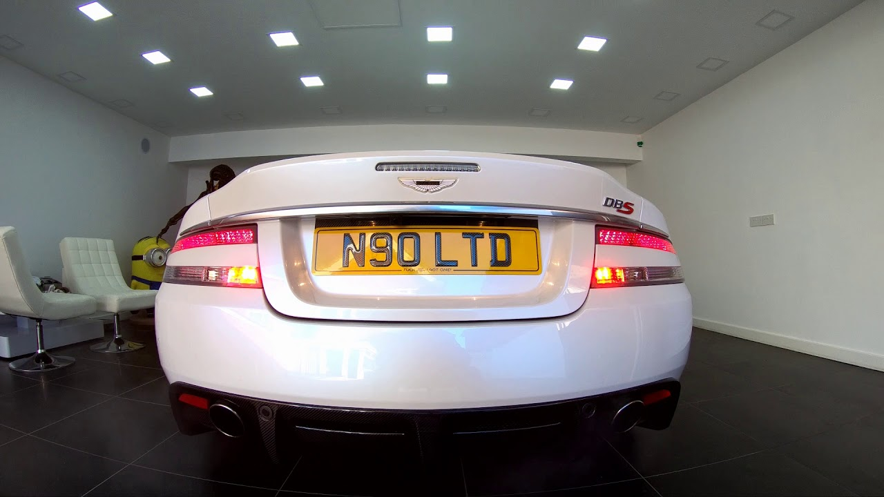 Aston Martin Modified Rear Lights By Fisher Performance
