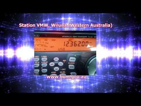 VMW station  in Wiluna, Australia  Received in Ourense, NW of Spain