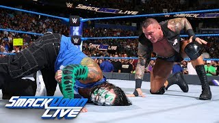 Download Video Shinsuke Nakamura and Randy Orton both execute attacks on Jeff Hardy: SmackDown LIVE, July 31, 2018 MP3 3GP MP4