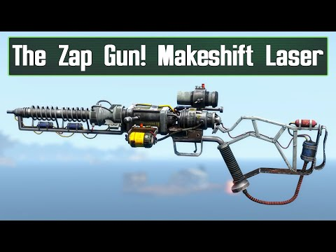 The Zap Gun Is Finally Here! Makeshift Laser Mod For Fallout 4