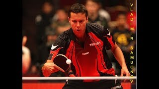 Vladimir Samsonov - Uładzimir Samsonaŭ - Belarusian table tennis player