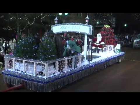 2014 Greenville Poinsettia Christmas Parade