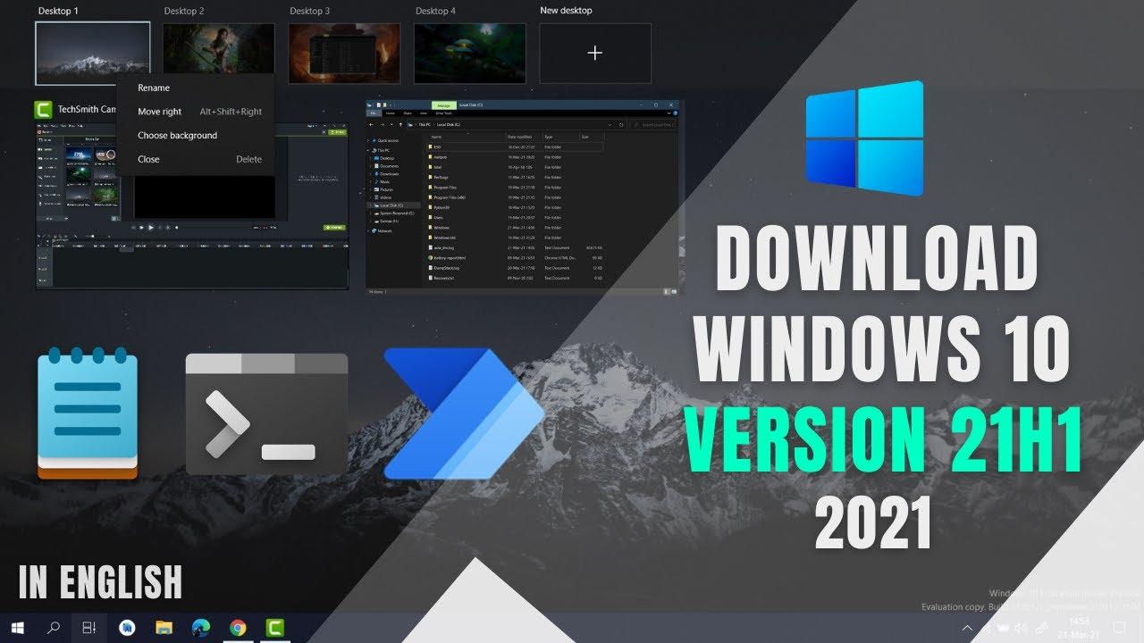 Download Windows 10 21H1 Update Download   Get Windows 10 May 2021 Update! (21H1)   2021