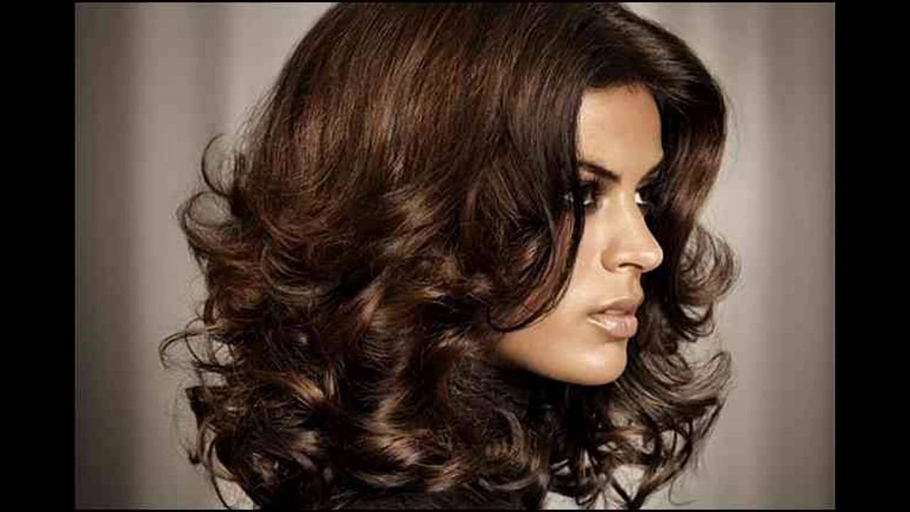 Short To Medium Hairstyles For Dark Hair