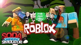 The FGN Crew Plays: ROBLOX - Soda Drinking Simulator