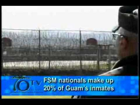 FSM nationals make up 20% of Guam's inmates