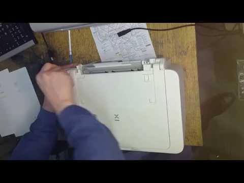 Принтер Canon PIXMA MG2440, MG2540 - выдает ошибку, заминает бумагу.