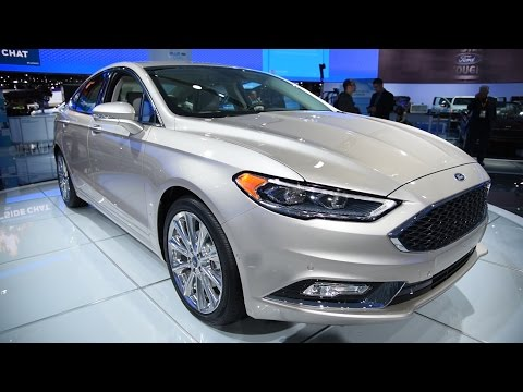 2017 Ford Fusion - 2016 Detroit Auto Show