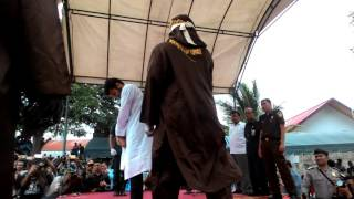 Two Gay Were Flogged in Aceh