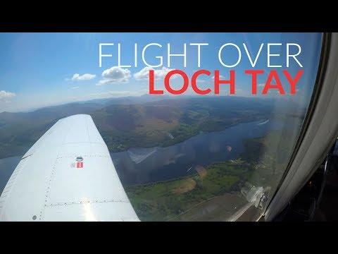Birthday Flight Over Loch Tay, Loch Earn & The Highlands!