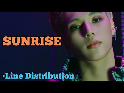 ATEEZ - SUNRISE (Line Distribution)