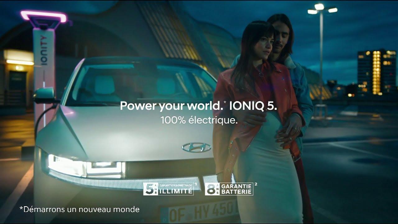 """Musique de la pub Hyundai Ionic 5 100% électrique """"power your world""""  Juin 2021"""