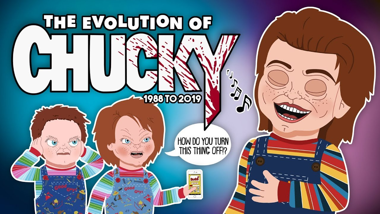 Download The Evolution Of CHUCKY - 1988 to 2019 (Animated)
