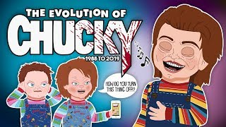 The Evolution Of CHUCKY - 1988 to 2019 (animated)