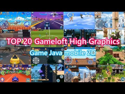 Top 20 Gameloft 2D Offline Games Java High Graphics | Download