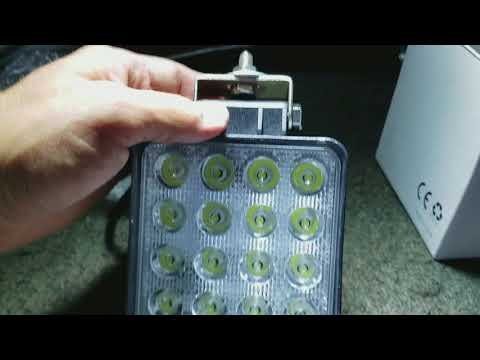Miady 4 inch square LED Light as 94 Accord trunk light