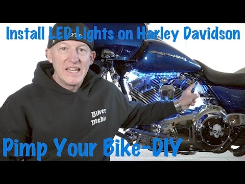 How to Install LED Lights on a Harley-Davidson-Tutorial & Guide