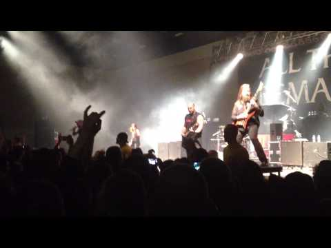 Reckless Fest II - 11/2/13 - All That Remains - Intro/Down Through The Ages & This Calling