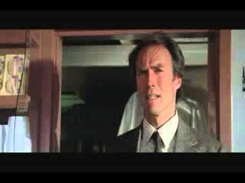 Clint Eastwood in Sudden Impact Dirty Harry