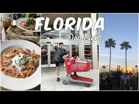 FLORIDA 2019 DAY EIGHT - Target, Cheesecake Factory and a trip to Citywalk